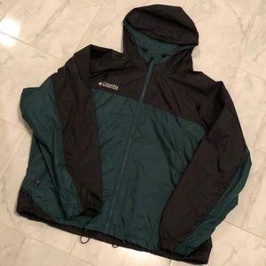 Columbia men's rain jacket / windbreaker EUC!
